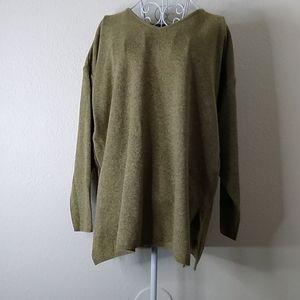 Eileen Fisher Woman Tunic Sweater